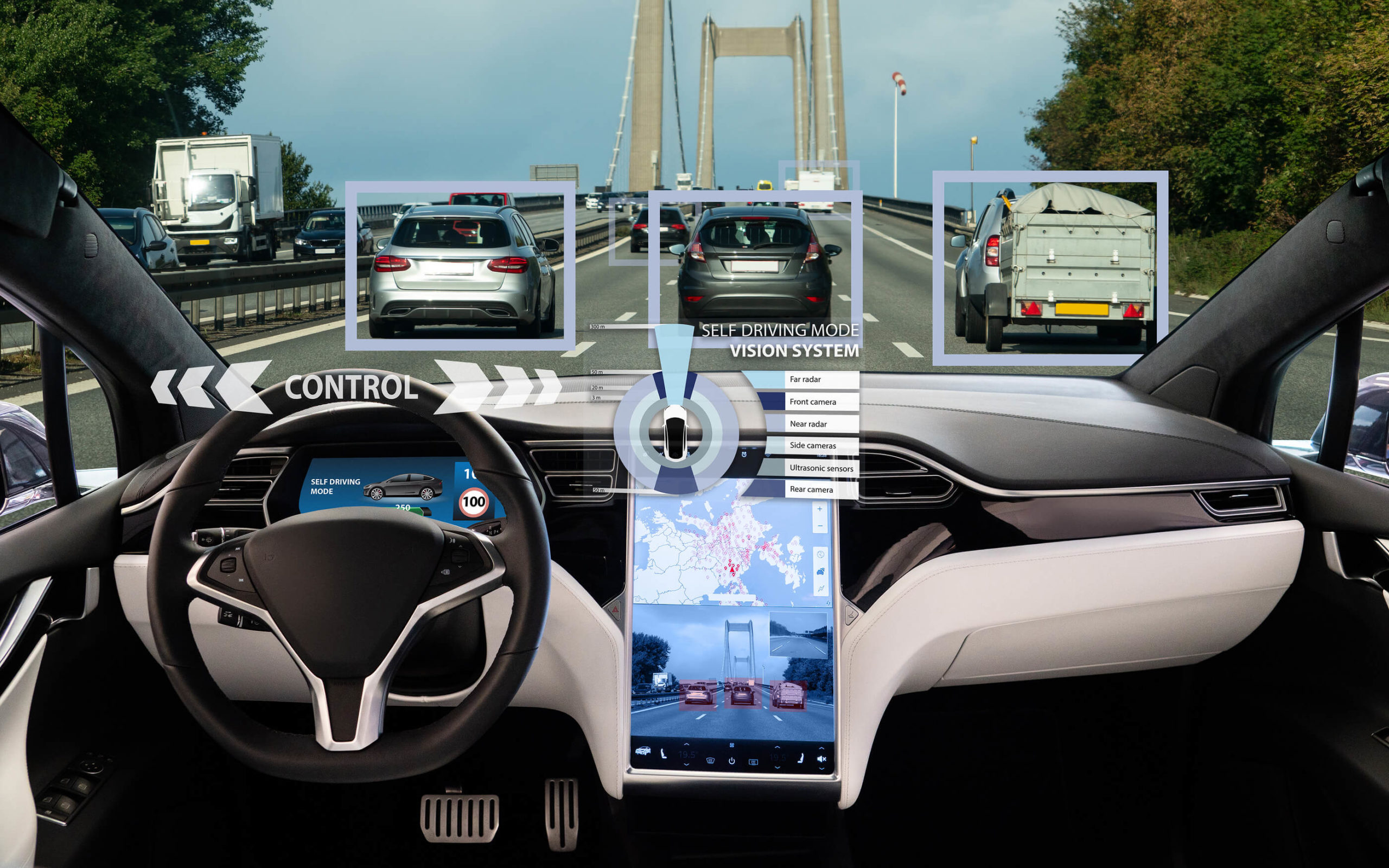 Self-Driving-Car-technology