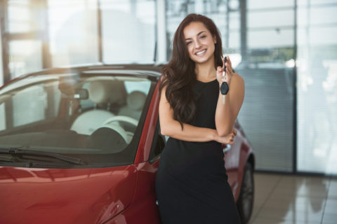 woman-buying-used-car-aftermarket-products